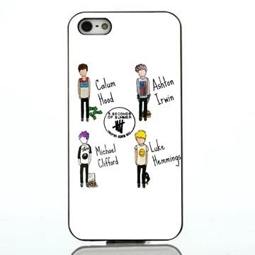 5 Seconds of summer Player iphone case,samsung case