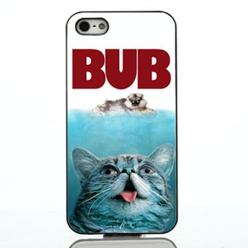 Jaws cat parody iphone case,samsung case