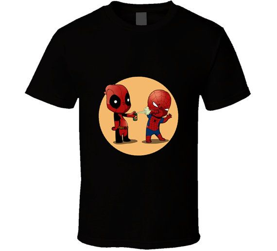 T Shirt Deadpool Graphic Image unisex men,women