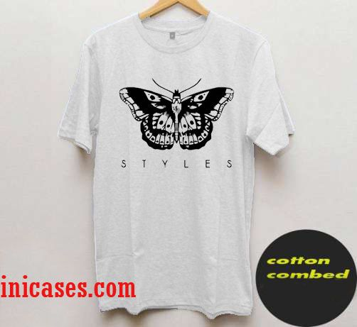 Harry Styles one Direction tattoo t shirt