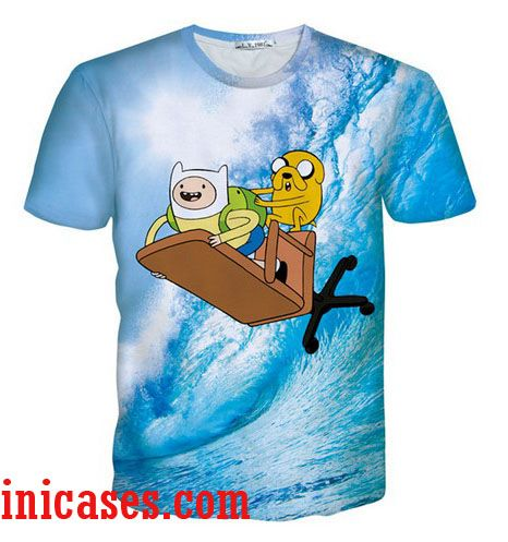 adventure time 1 full print graphic shirt two side