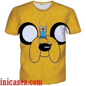 adventure time 2 full print graphic shirt two side