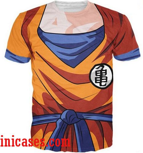 dragon ball z full print shirt two side