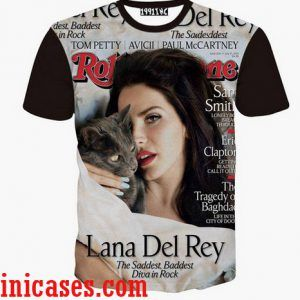 lana del rey full print shirt two side