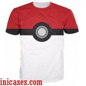 pokemon full print graphic shirt