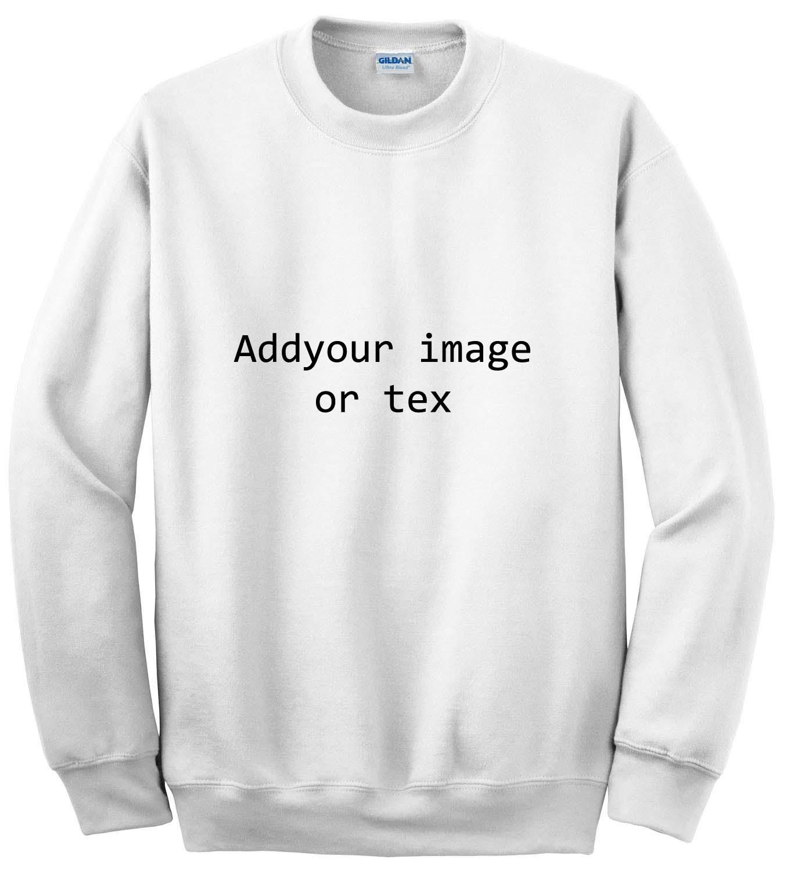 Create custom Sweatshirt unisex men,women (Custom)
