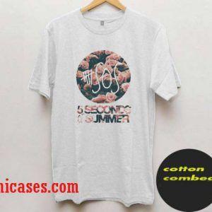 5 Seconds Of Summer flower T-Shirt