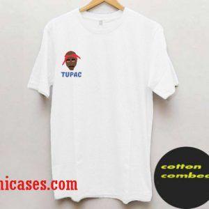 Tupac Shakur Face T-Shirt