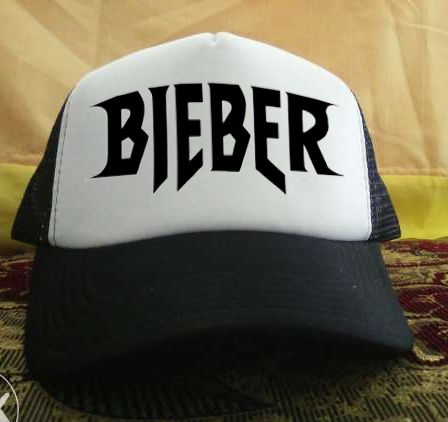 Belieber Trucker Hat printed design