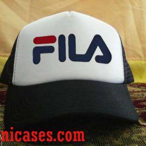 Fila Logo Trucker Hat printed design