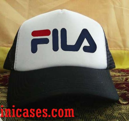 Fila Logo Trucker Hat printed design