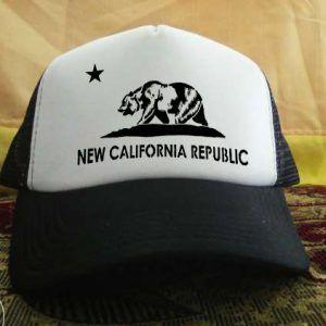New California republic printed design Trucker Hat