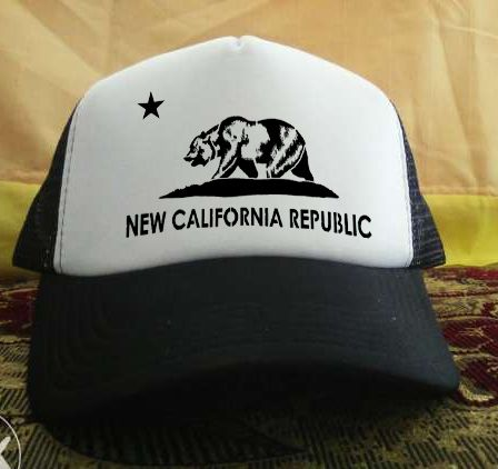 New California republic printed design Trucker Hat
