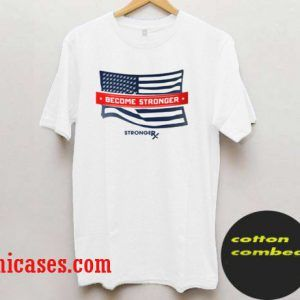 StrongerRX USA Flag T shirt