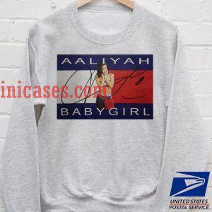 Aaliyah BabyGirl Grey Sweatshirt