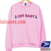 Cry Baby Pink Sweatshirt