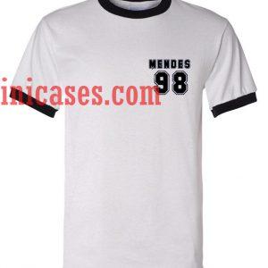 Mendes 98 ringer t shirt