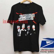 5 Seconds Of Summer tour T shirt