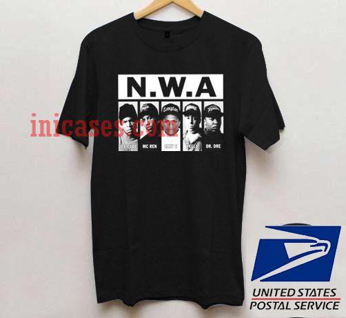 NWA Lace Up T shirt