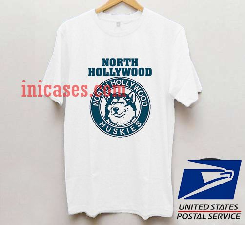 north hollywood huskies t shirt