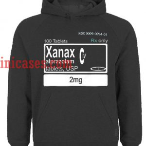 100 Tablets Xanax Hoodie pullover