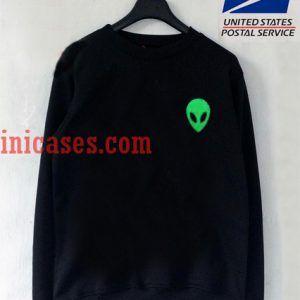Alien Green Sweatshirt