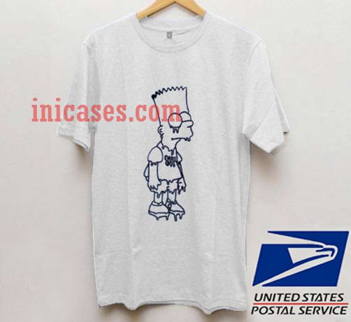 Bart Simpson chill out T shirt