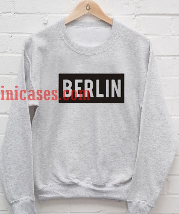 Be Unique. Shop berlin germany crewneck sweatshirts created by independent artists from around the globe. We print the highest quality berlin germany crewneck sweatshirts on the internet.