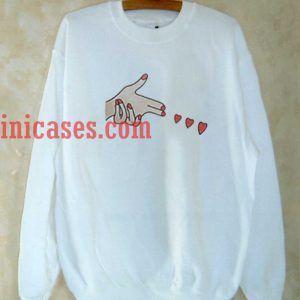 Hand Shoot Love Sweatshirt