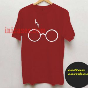 Harry Potter Lightning Glasses T shirt