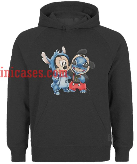 b76883aca Mickey And Stitch Hoodie pullover