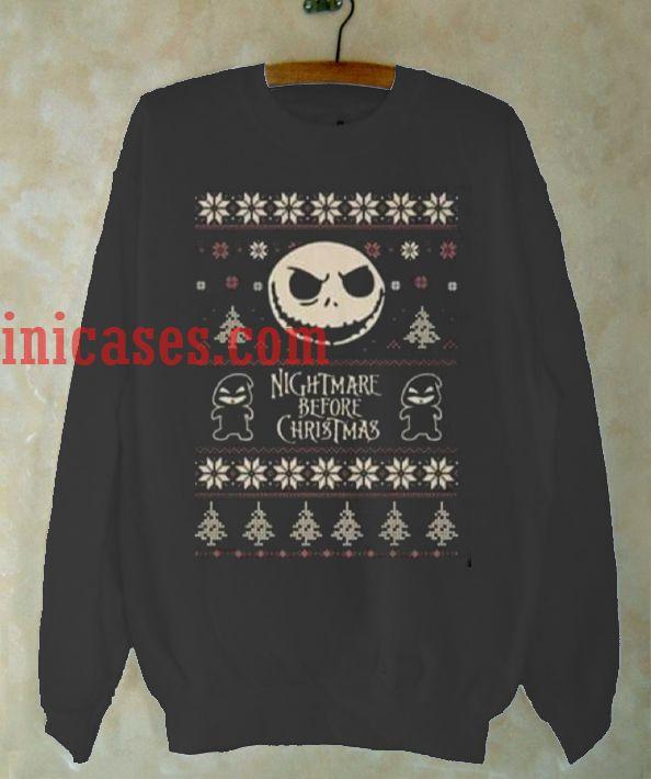 Nightmare Before Christmas Sweatshirt