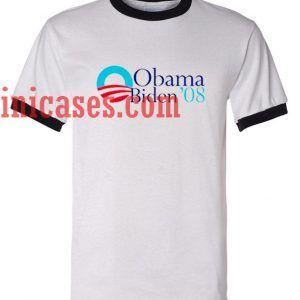 Obama Biden ringer t shirt