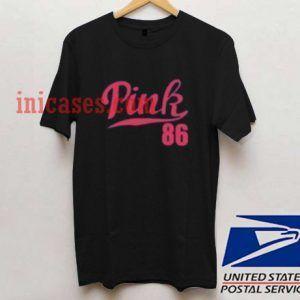 Pink 86 T shirt