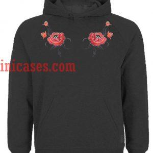 Roses Flower Hoodie pullover