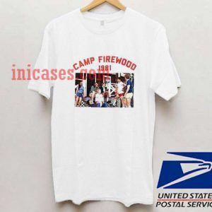 camp firewood 1981 T shirt
