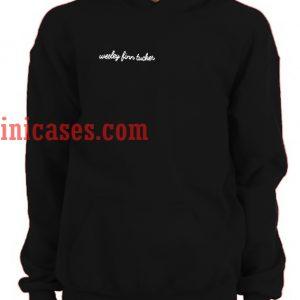 wesley finn tucker Hoodie pullover