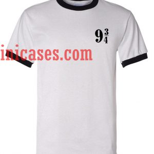 9 3 4 Harry Potter ringer t shirt