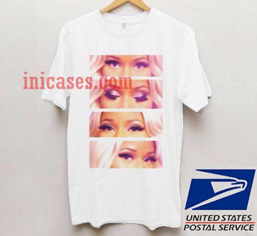 Nicki Minaj Eyes T Shirt