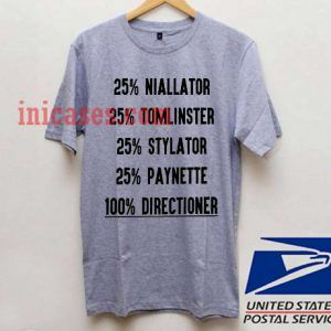 One Direction Directioner T shirt