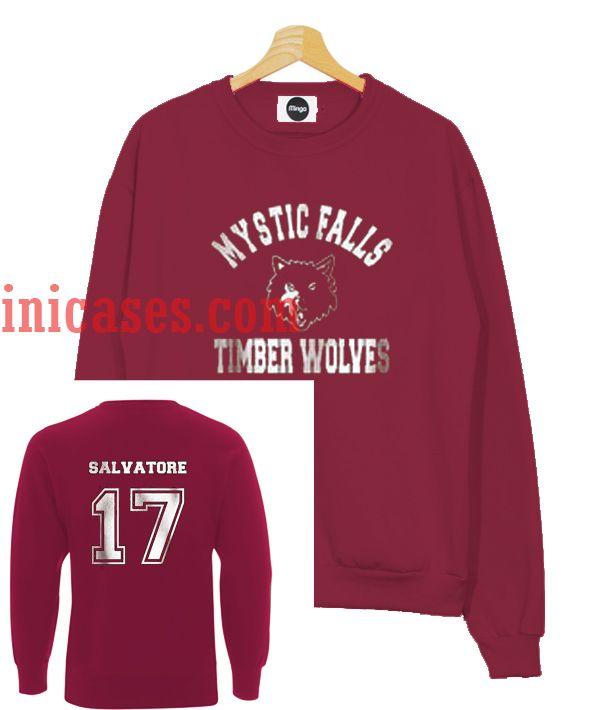 Salvatore 17 Mystic Falls The Vampire sweatshirt