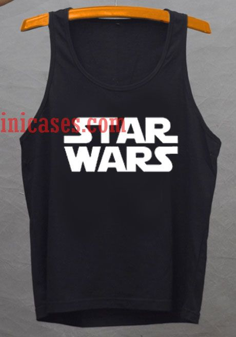 Star Wars Logo tank top unisex