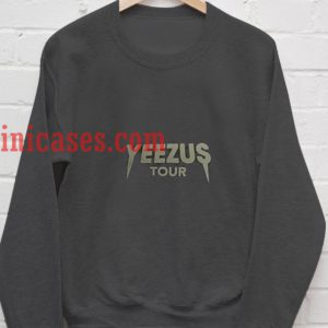 Yeezus Tour Dark Grey Sweatshirt