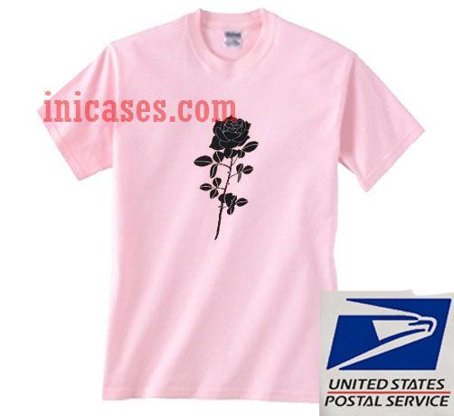 rose pink t shirt
