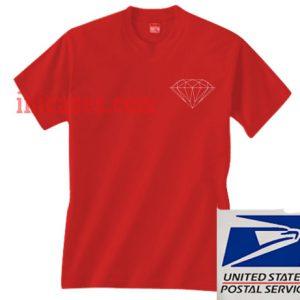 Diamond Supply Co Red T shirt