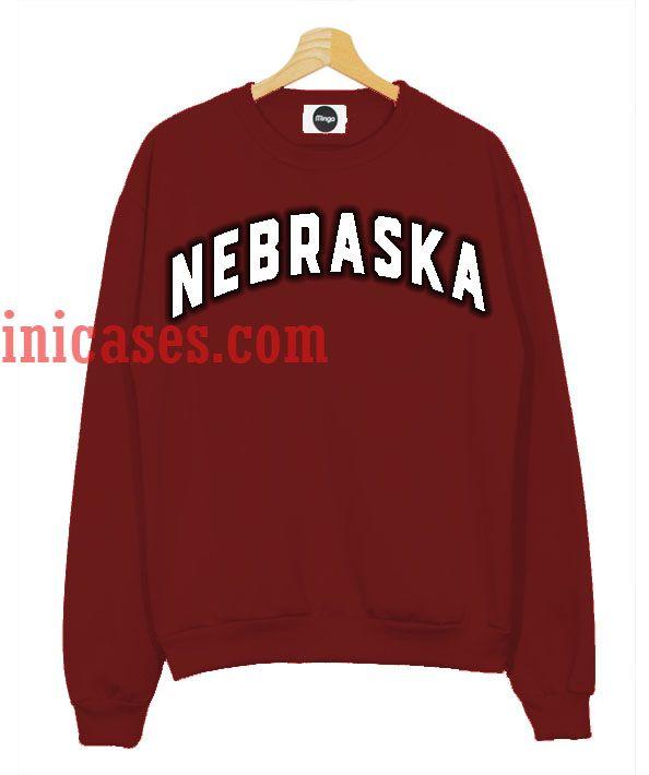 Nebraska Maroon Sweatshirt