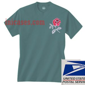 Roses Green T shirt