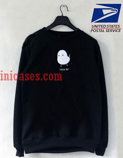 White Bird Crow Tit Sweatshirt