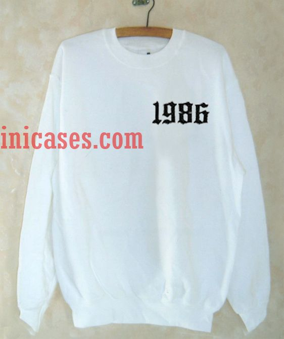 1986 White Sweatshirt