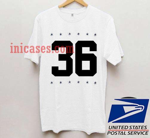 36 Star T shirt